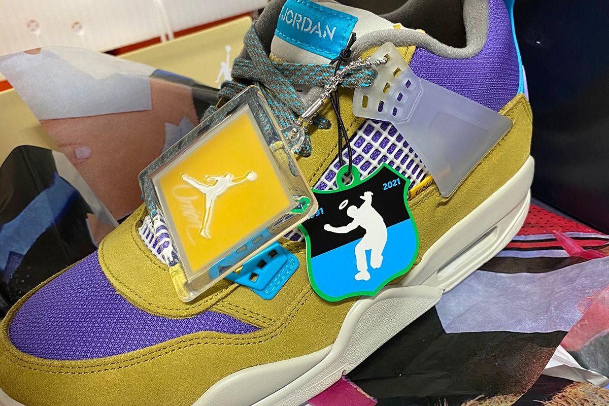 This Rumored Union LA x Nike Air Jordan 4 Has Us Intrigued 3