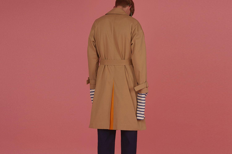 Unisex Trench Coat