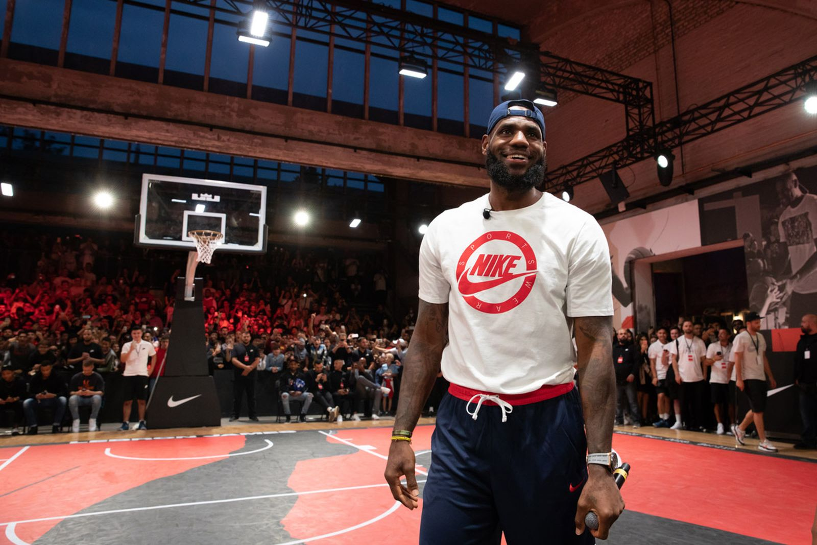our new documentary more than an athlete stars lebron james in berlin Nike