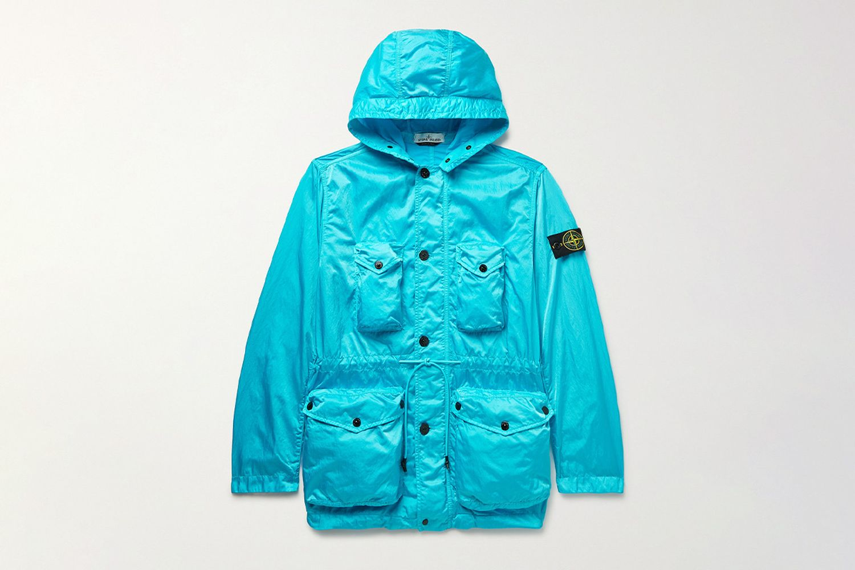 Raso Hooded Jacket