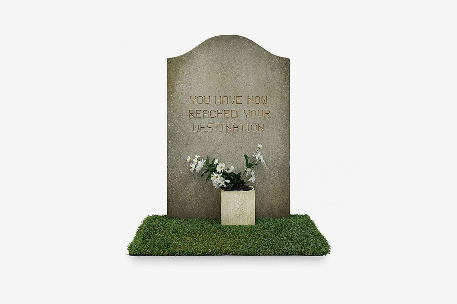 Banksy Gross Domestic Product tombstone
