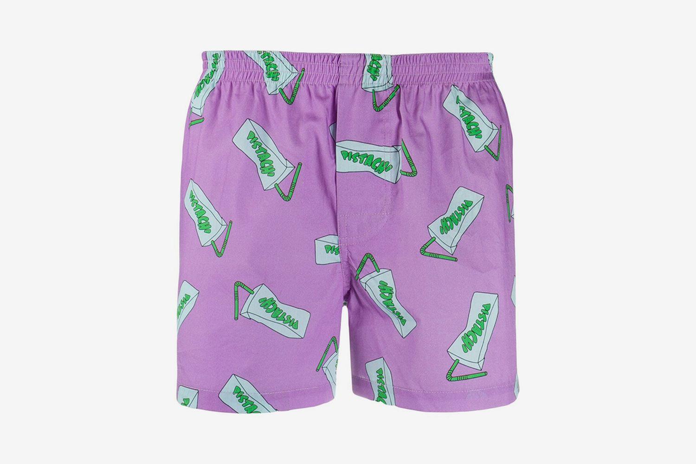 Pistach' Print Shorts