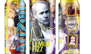 Artist Richard Prince teams up with Arizona Drinks for 'Lemon Fizz'