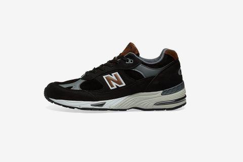 Navy & Brown 991