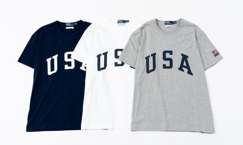 "1c28704c Ron Herman x Ralph Lauren Drops ""USA"" Logo Capsule"