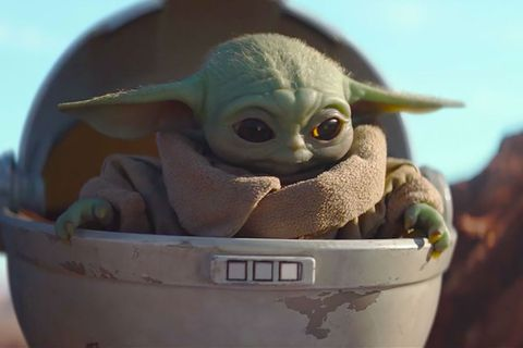 Baby Yoda in Disney+'s 'The Mandalorian'