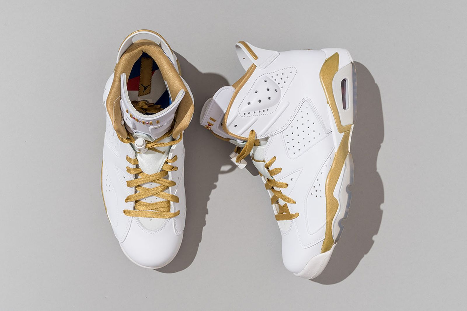"2012 Air Jordan 6 ""Golden Moments"" Multi-Color/Multi-Color"