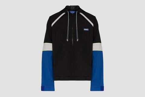 Oversized Kangaroo Pocket Overshirt Jacket