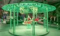 Prada's 'Hyper Leaves' Gazebo Houses Awesome In-Store Exclusives