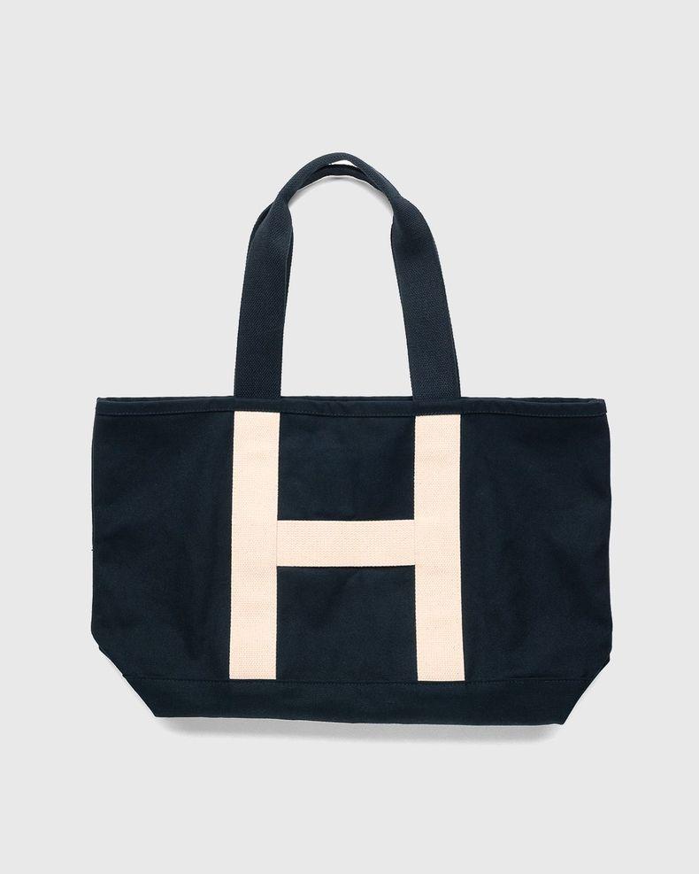 Highsnobiety – Heavy Canvas Large Shopper Tote Black