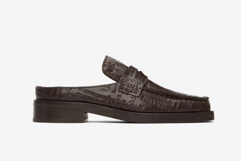 Embossed Arches Loafers