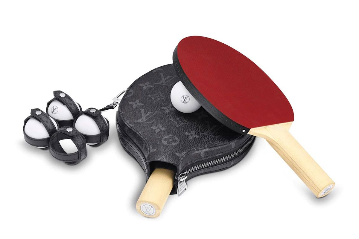 Louis Vuitton Just Dropped a $2,210 Monogrammed Ping-Pong Set