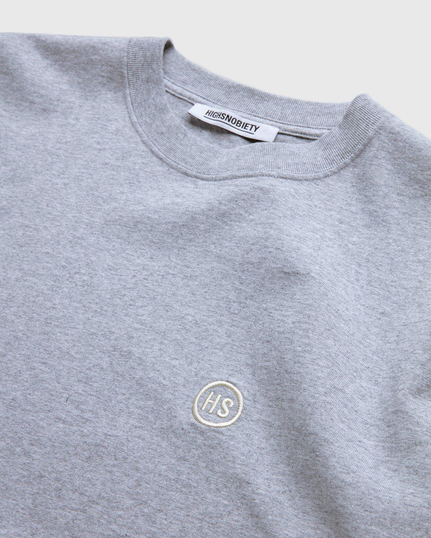 Highsnobiety — T-Shirt Grey - Image 3