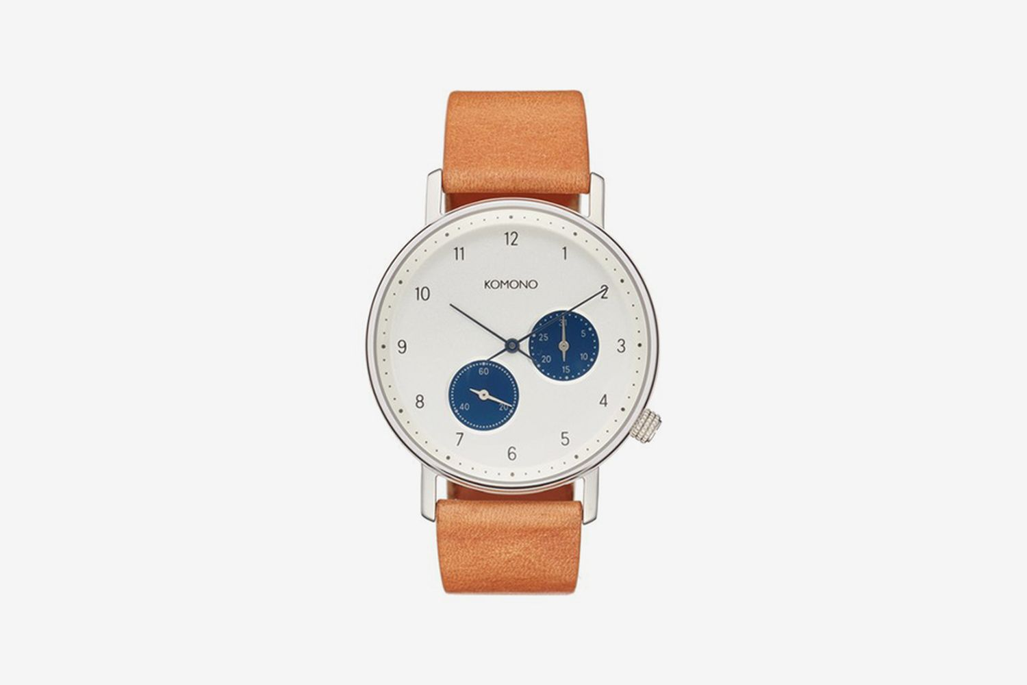 Walther Chronograph Leather Strap Watch