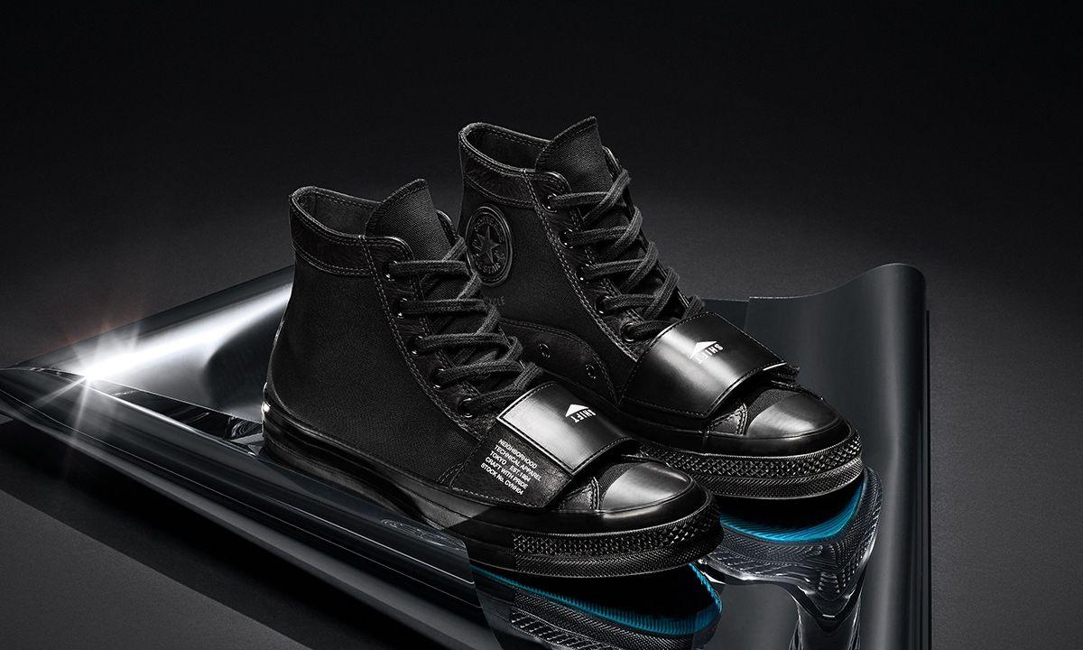 NEIGHBORHOOD & Converse's Moto-Inspired Sneaker Collab Drops Next Week