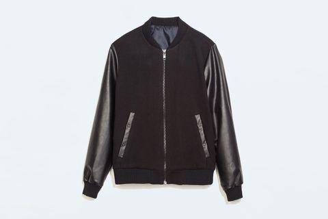 a6375c845 ZARA Varsity Jacket