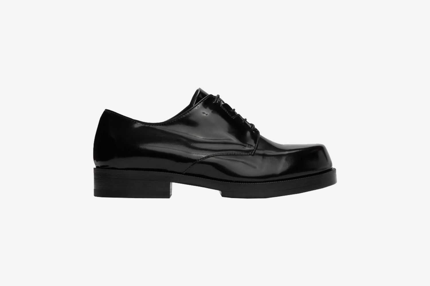 Black Leather Derbys