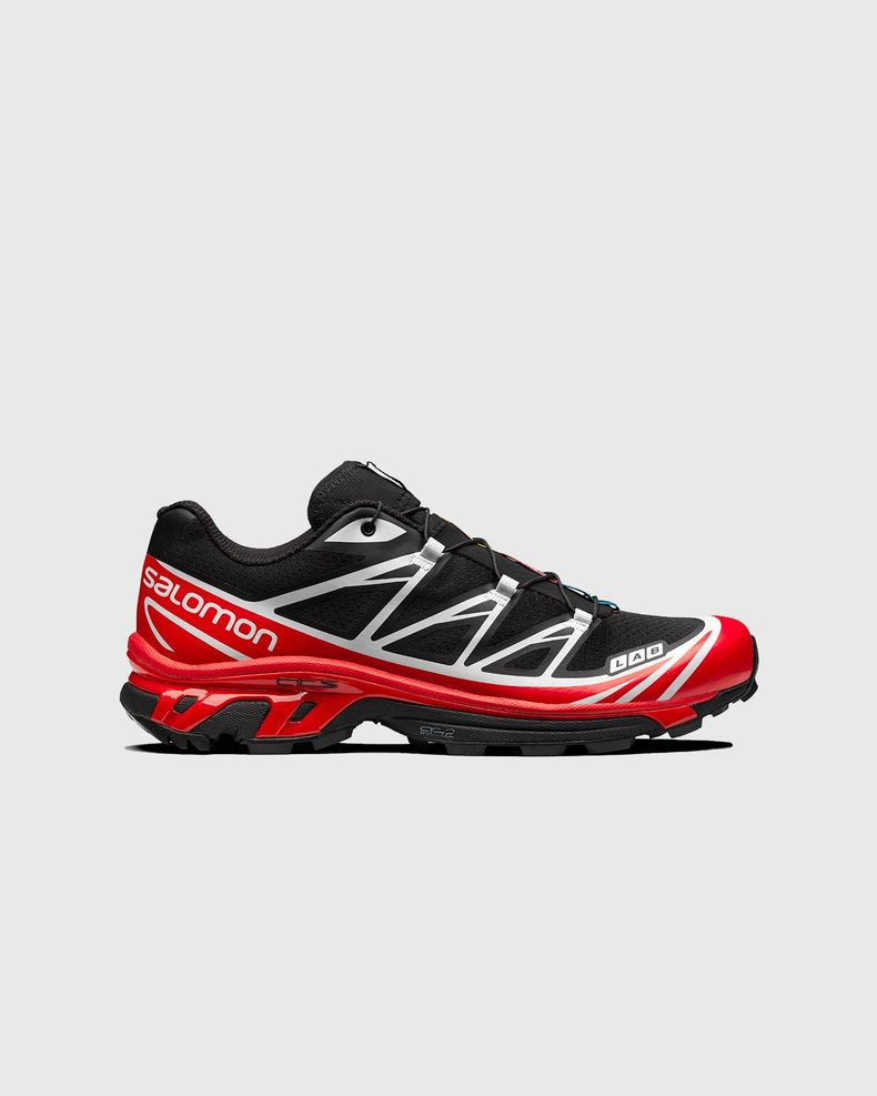 Salomon - XT-6 ADVANCED - Black/ Racing Red/ White