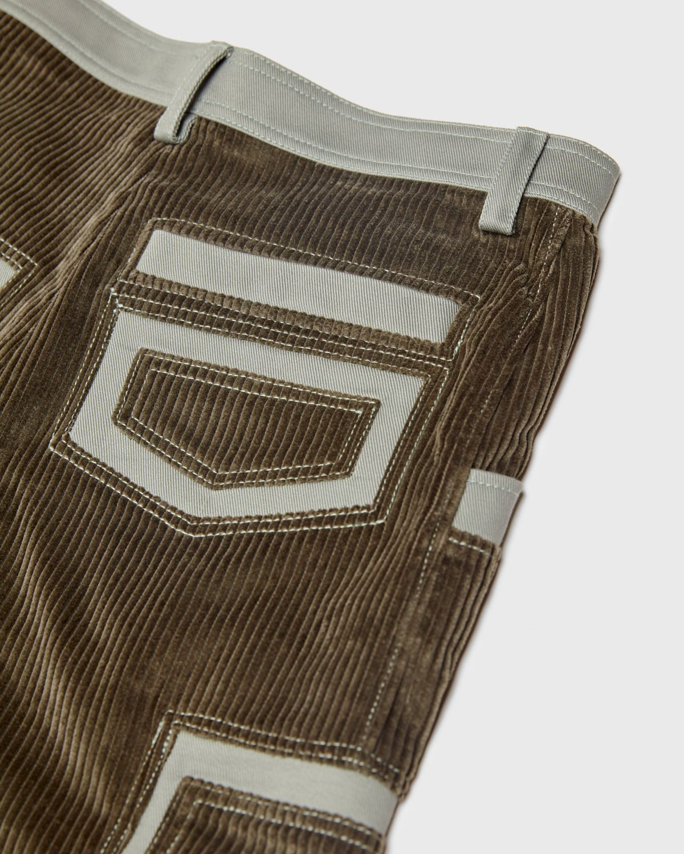 JACQUEMUS - Le Pantalon Bellu  Green - Image 4