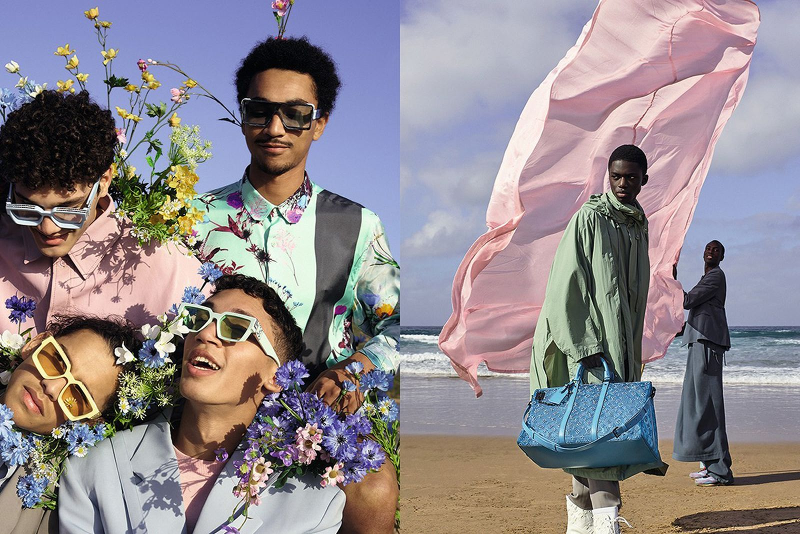 Louis Vuitton SS20 campaign