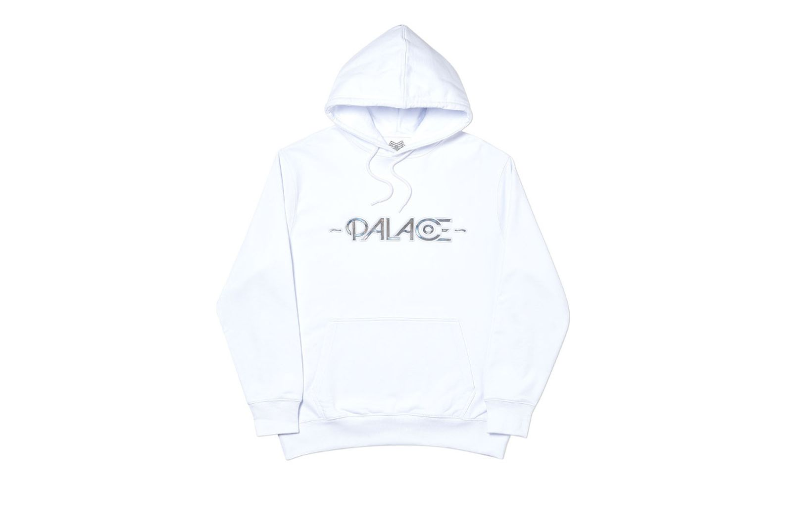 Palace 2019 Autumn Hood Obsisson White Front
