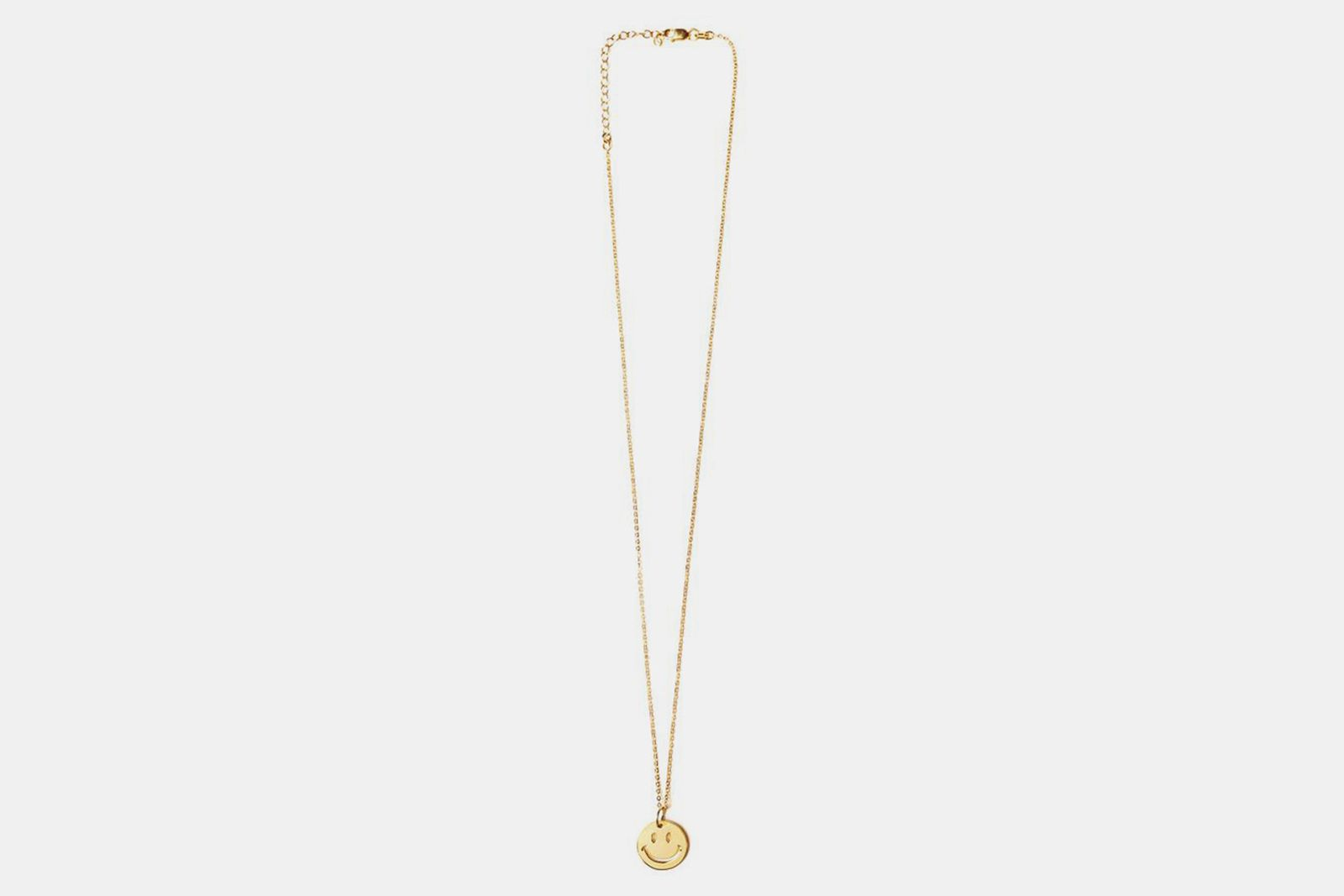 chinatown market the m jewelers smiley pendant necklace