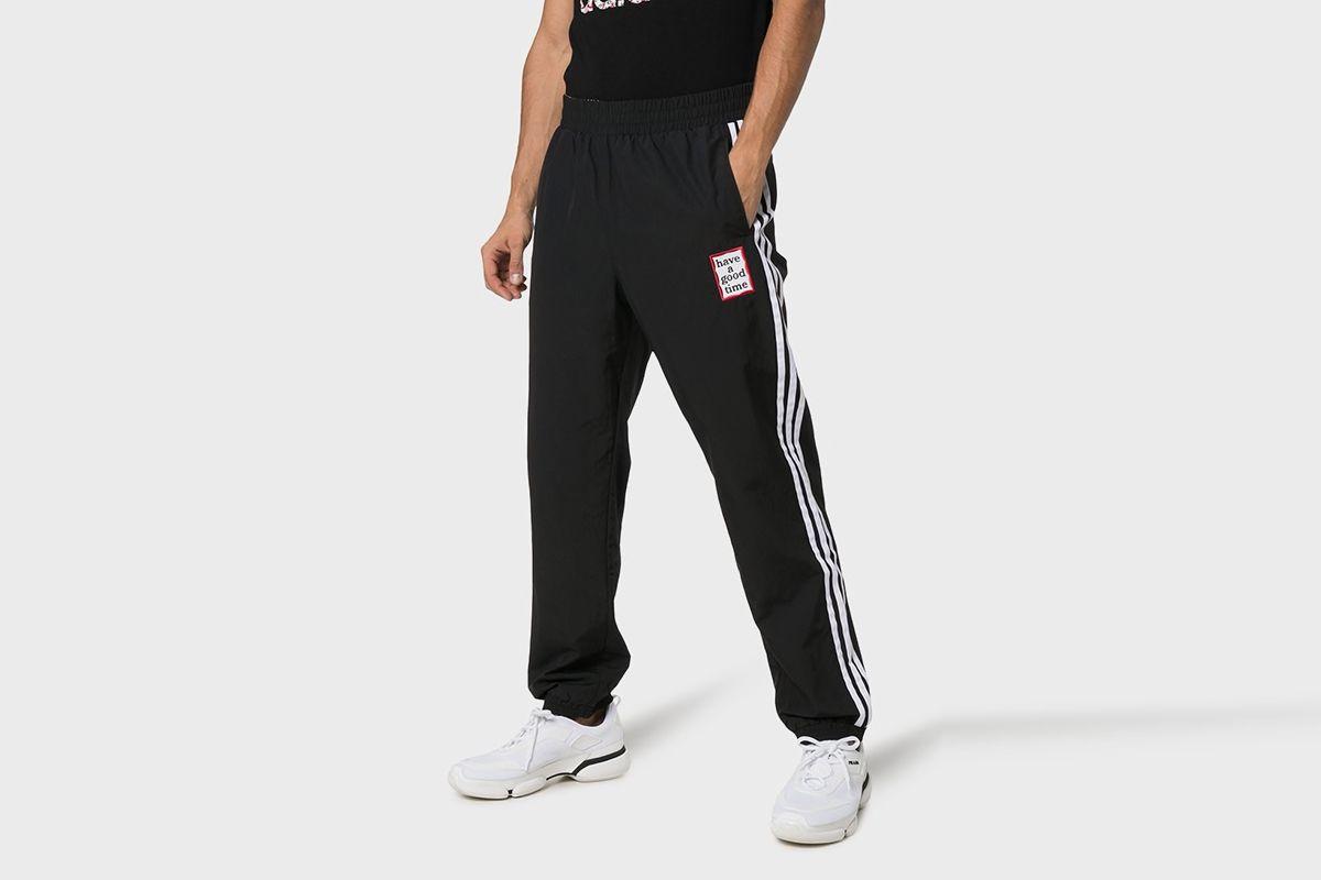 Reversible Track pants