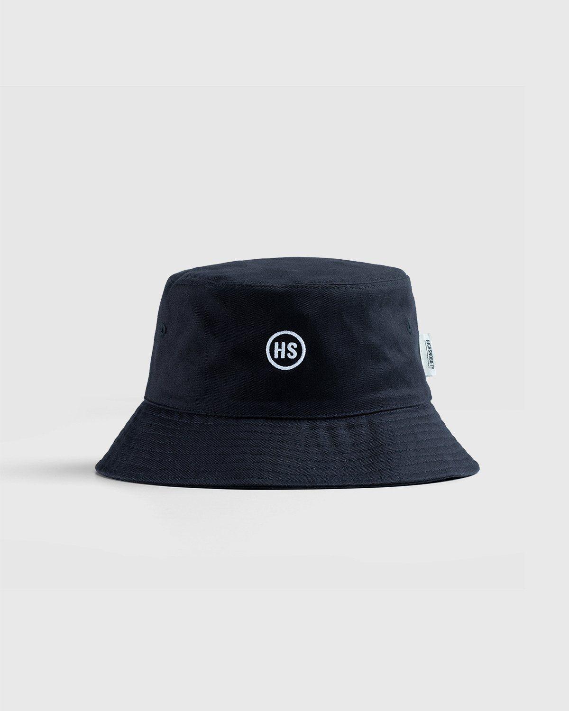 Highsnobiety – Bucket Hat Black - Image 1