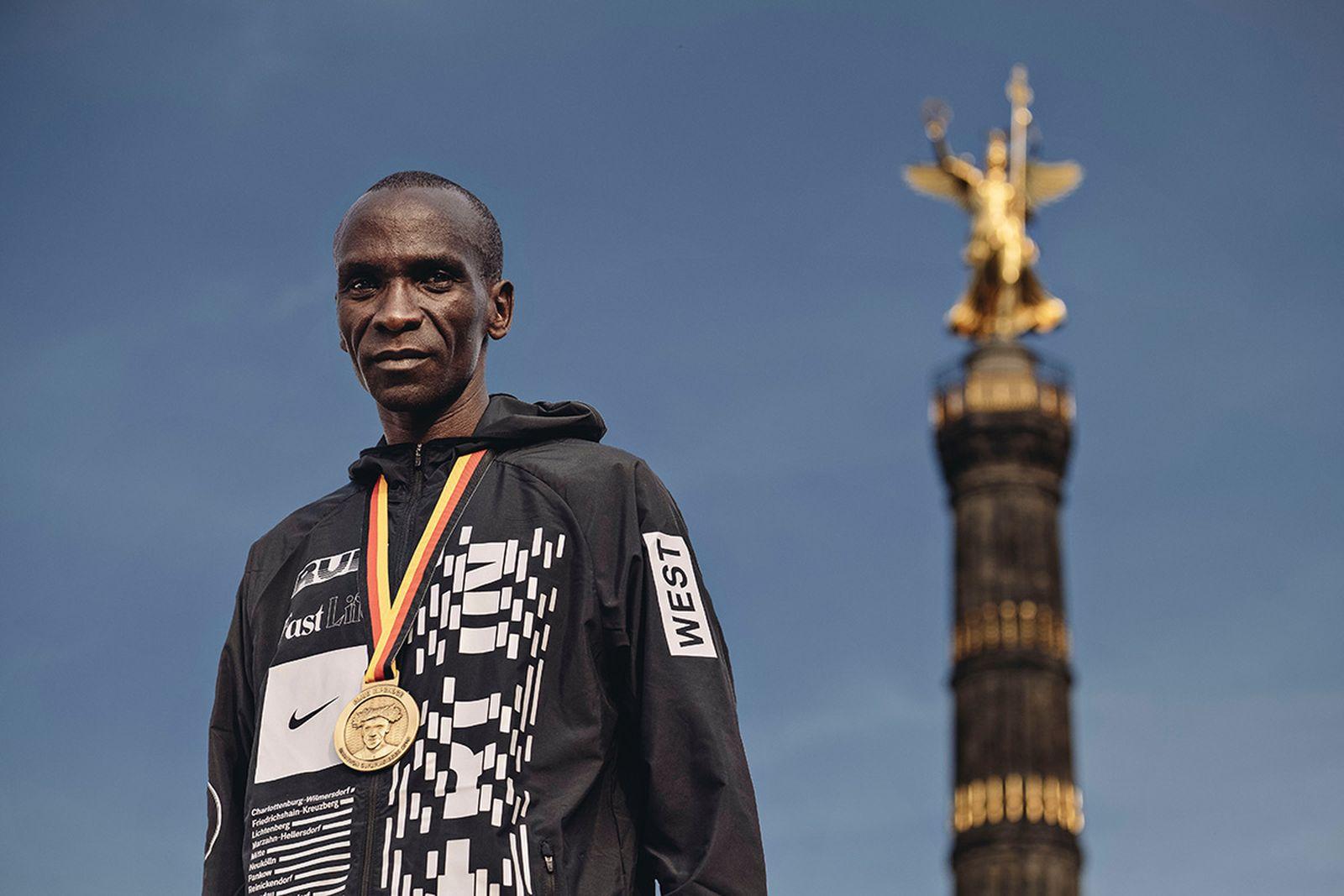 eliud kipchoge marathon world record nike zoom vaporfly 4 Zoom Vaporfly 4%
