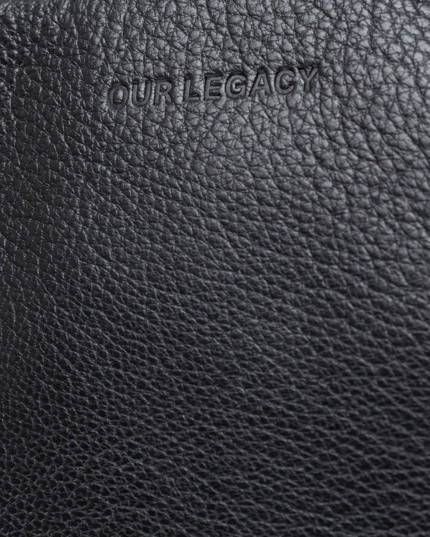 Our Legacy – Delay Mini Bag Black - Image 3