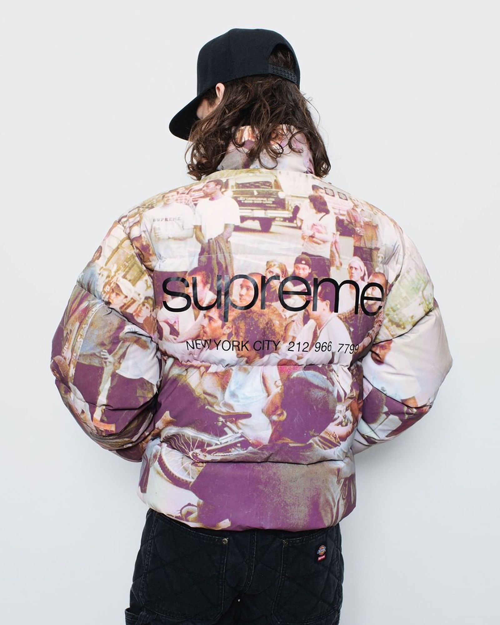 supreme fall winter 2021 collection dickies collaboration lookbook