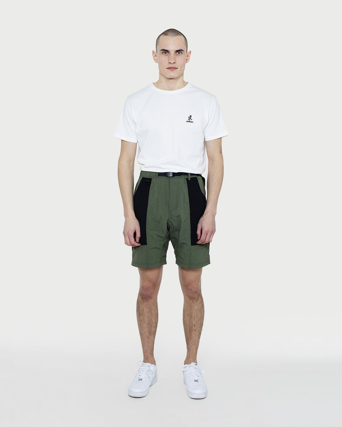 Gramicci - Shell Gear Shorts Olive/Black - Image 1
