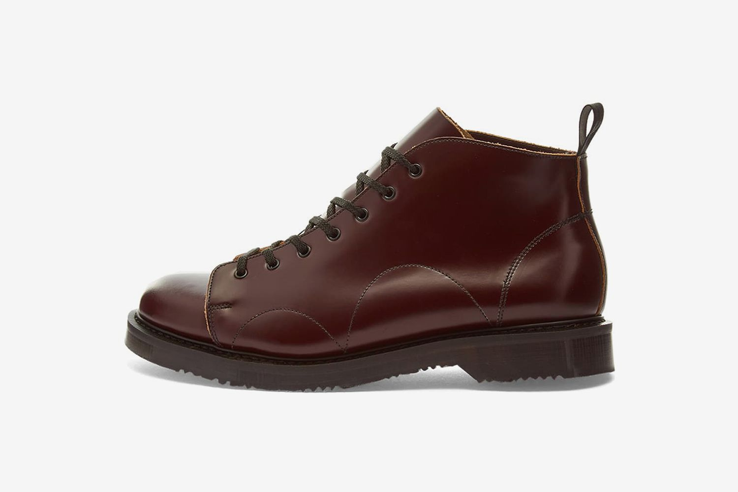Leather Monkey Boot