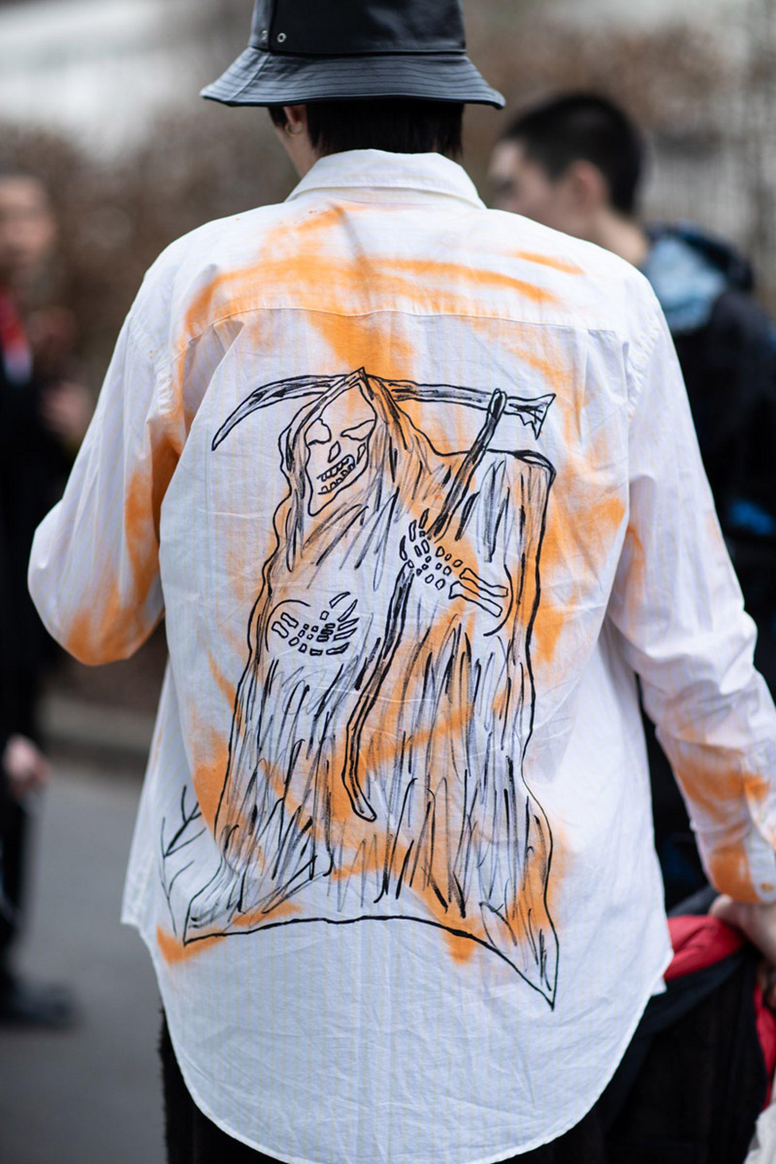 WFW19 Paris StreetStyle EvaAlDesnudo 06 Balenciaga Demna Gvaslia