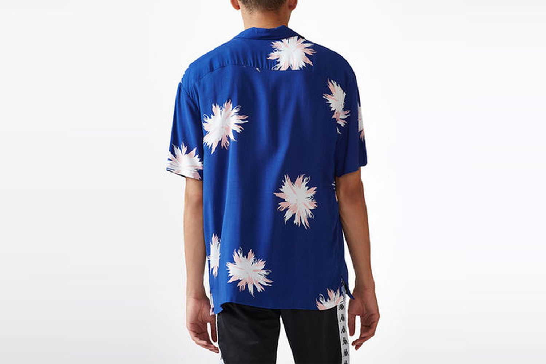 Short Sleeve Button Up Camp Shirt