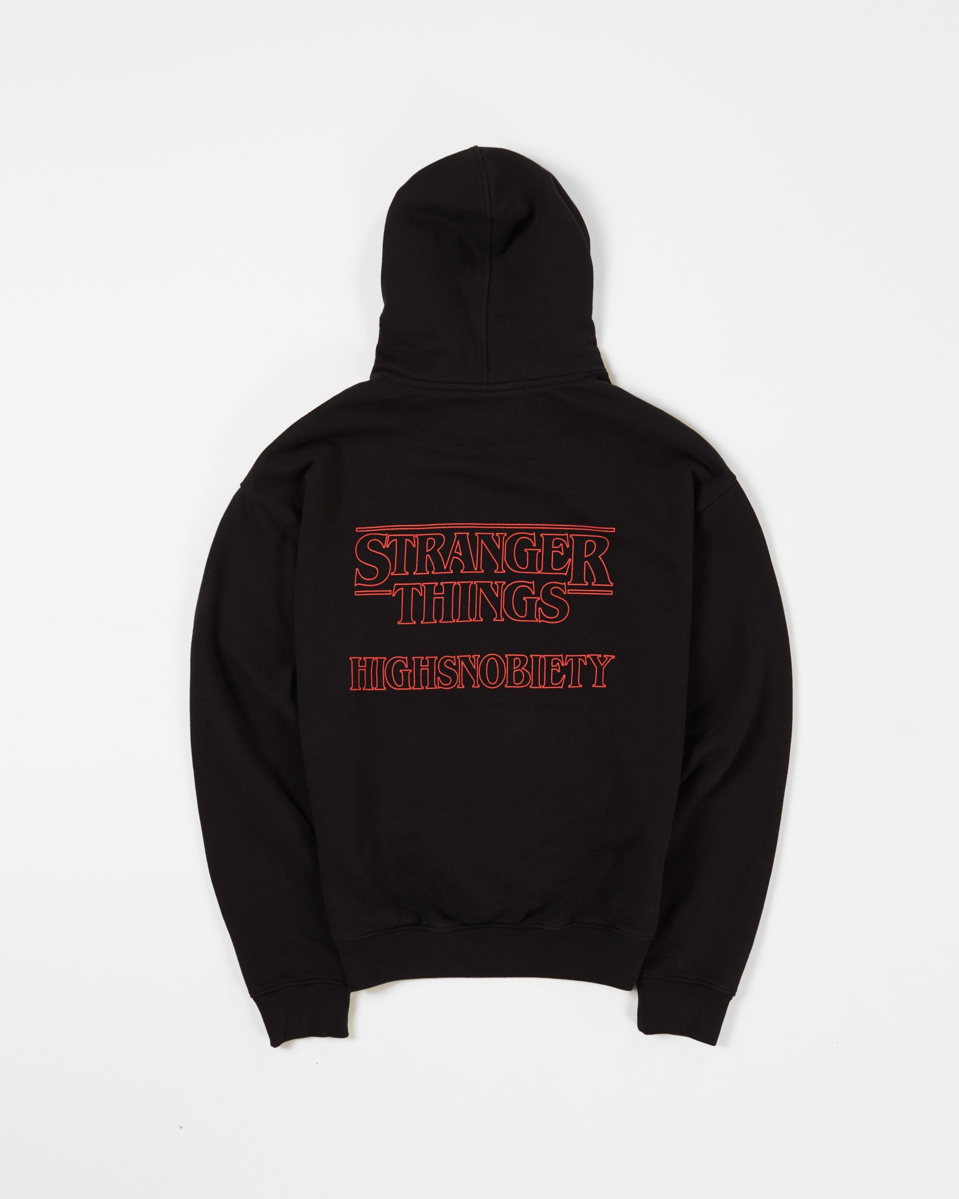 Stranger Things 3 x Highsnobiety Logo Hoodie - Black - Image 1