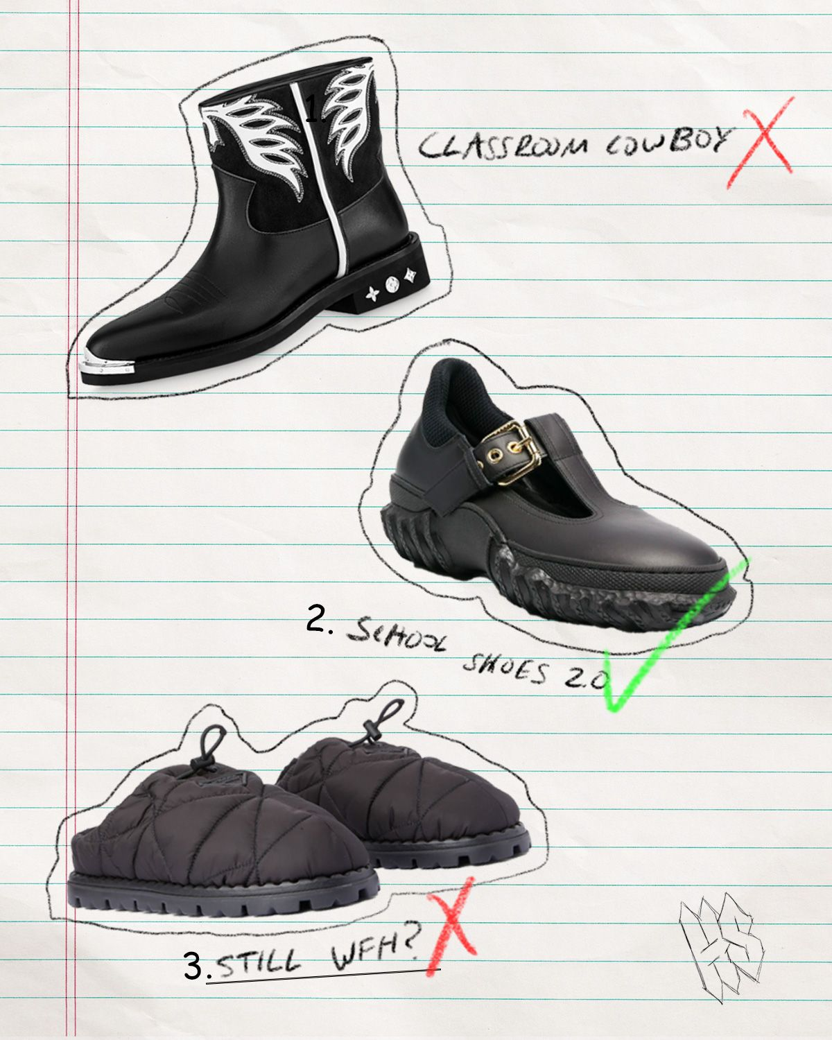 Our Editors Teach a Lesson in A-Grade Back to School Shoes