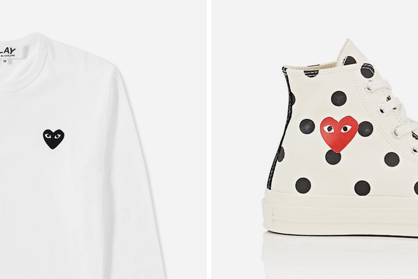 Main (45) CDG PLAY comme des garcons
