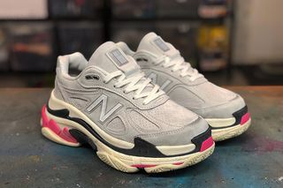 "low priced 61495 65301 New Balanciaga"" 990v4 Triple S: The Ultimate Dad Shoe"