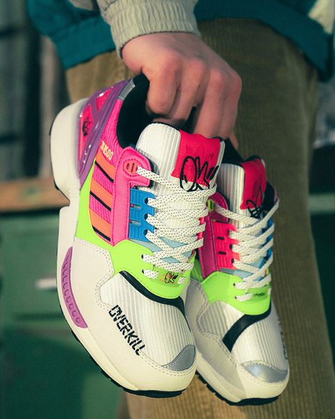 Overkill's adidas ZX 8500 Is a Neon-decked Nod To Graffiti Culture 21