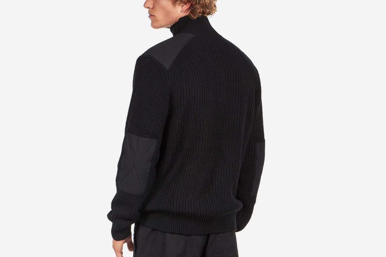 Walker Half Zip Sweater