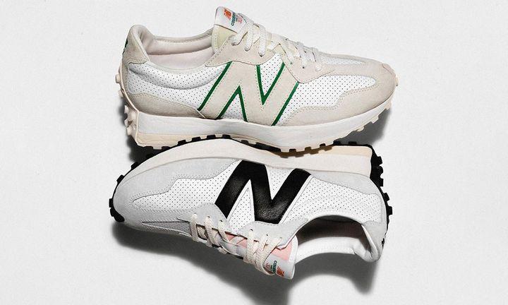 casablanca x new balance 327 sneaker