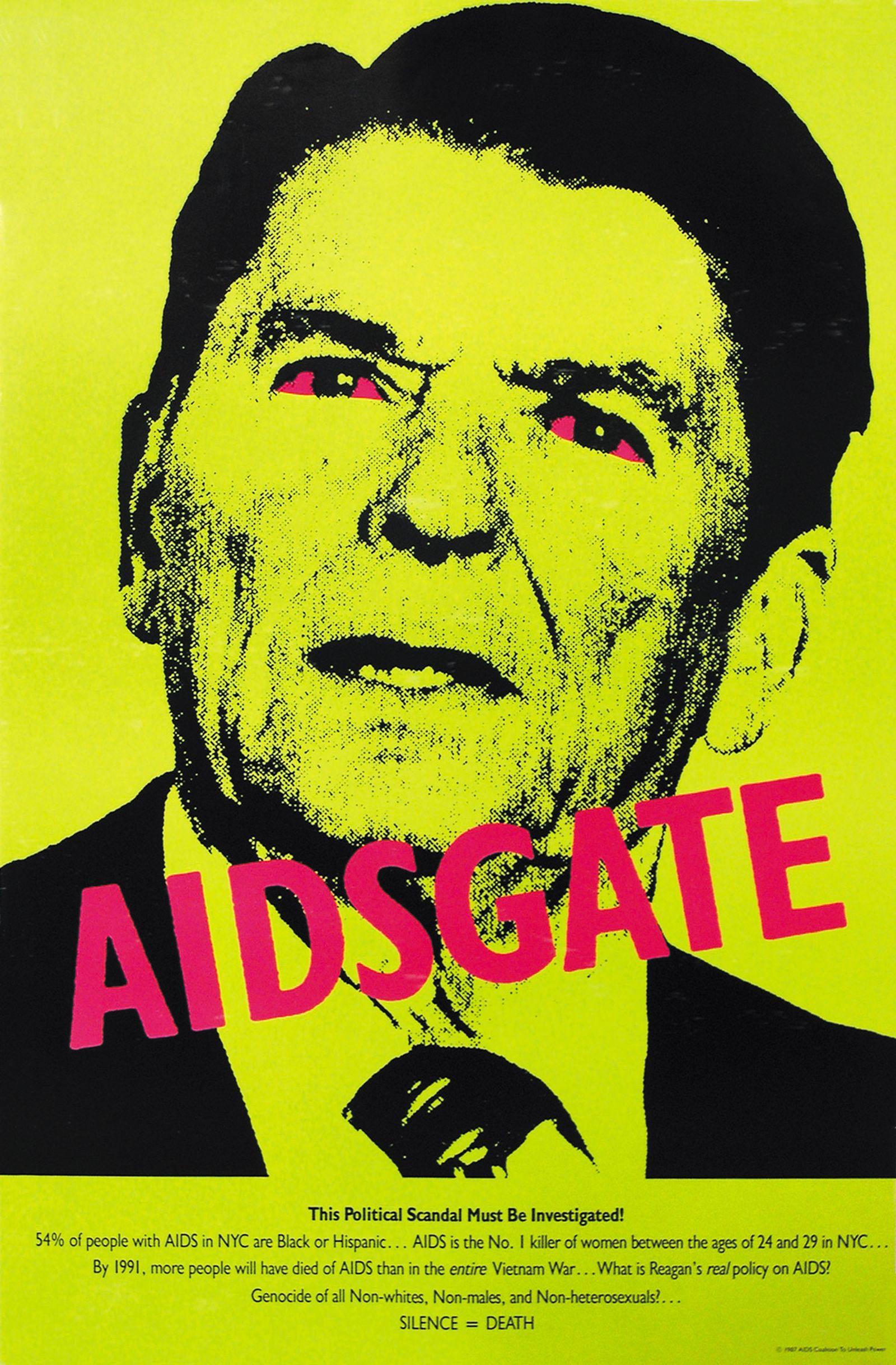 Silence = Death Project, AIDSGATE, 1987