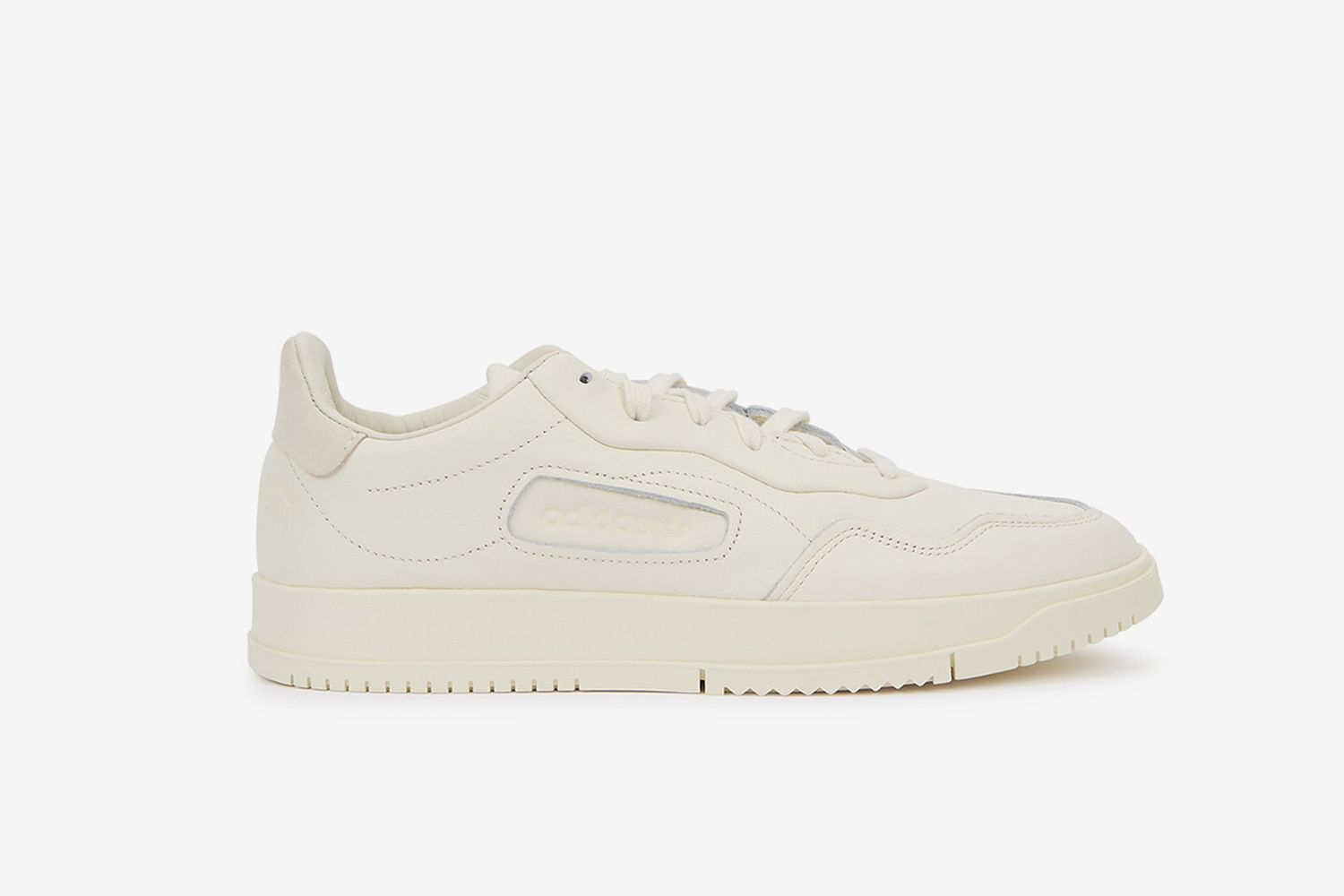 SC Premiere Off-White Leather Sneakers