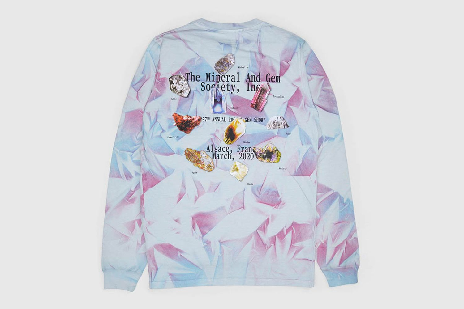 """""""This Never Happened"""" Minerals & Stones Fair Longsleeve"""