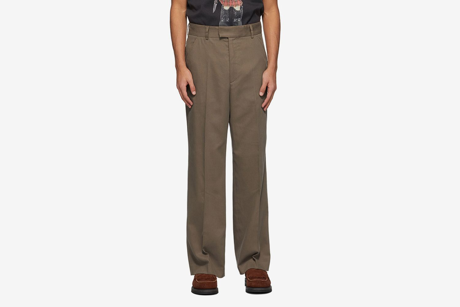 High-Top Chino Trousers