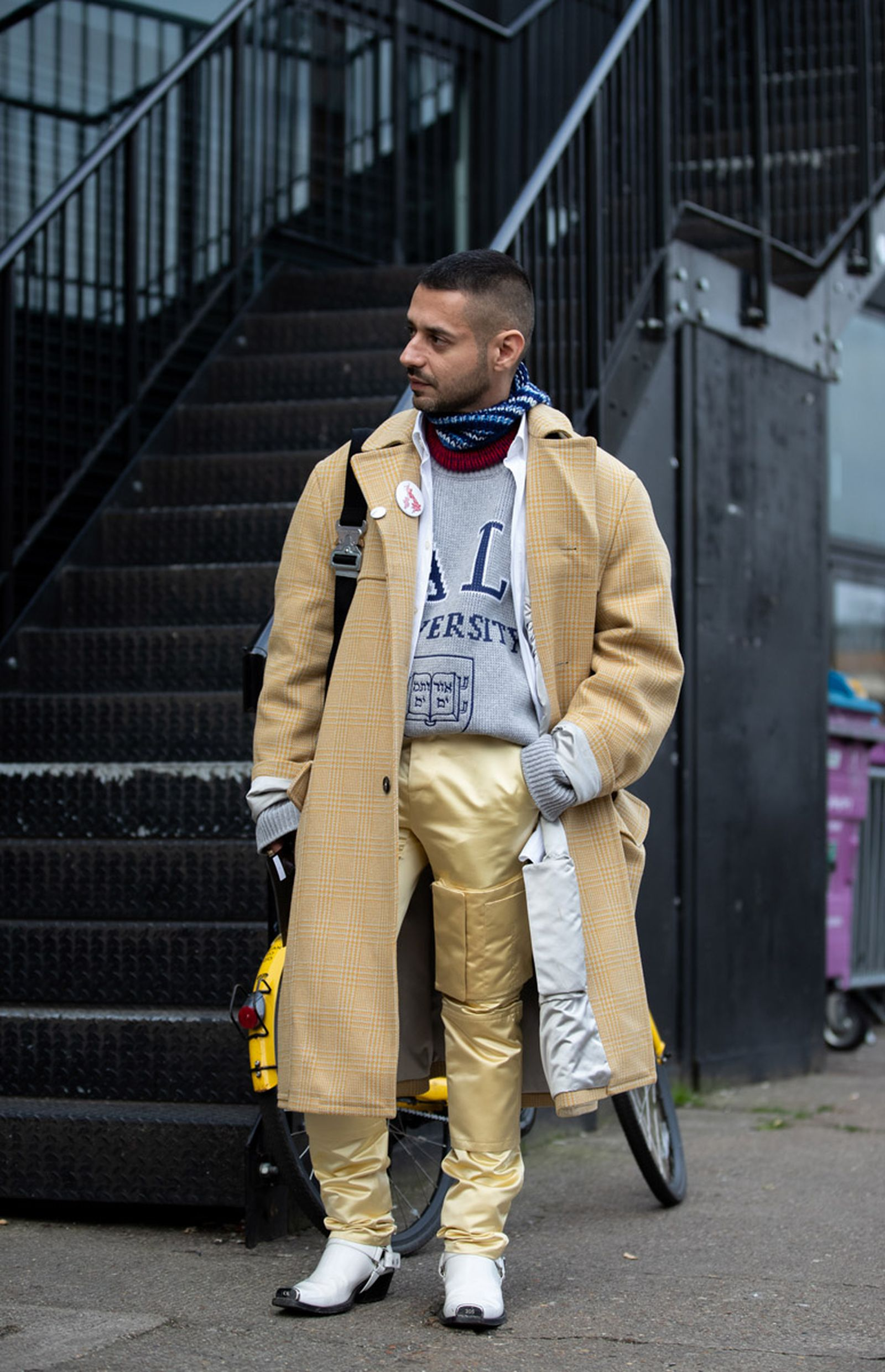 MFW19 London StreetStyle EvaAlDesnudo 13 Martine Rose a cold wall calvin klein 205w39nyc