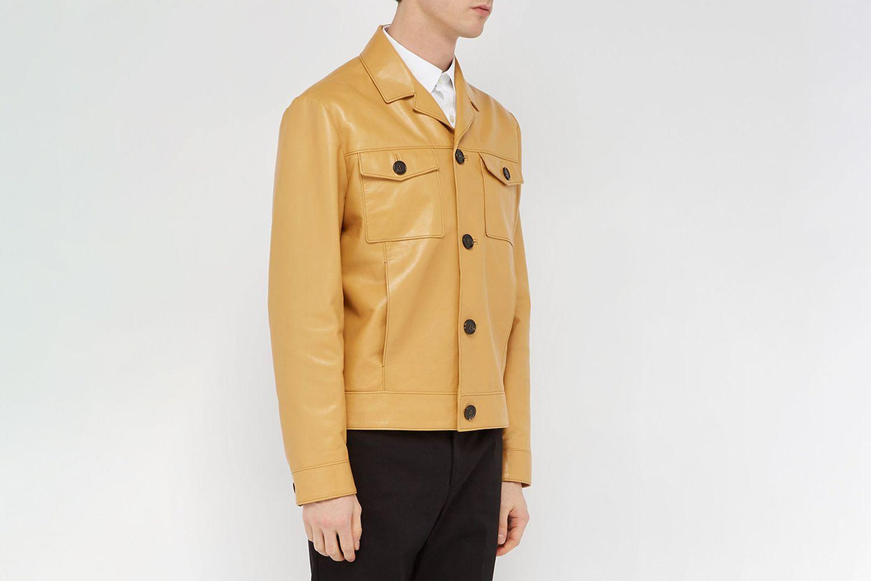 Calfskin Leather Jacket