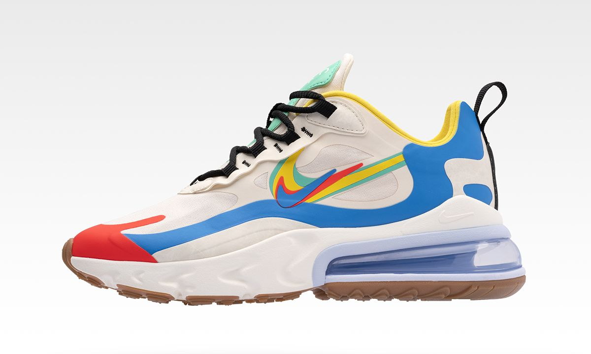 """Nike Pays Homage to Its Iconic Logo With Another """"Evolution of the Swoosh"""" Collection"""