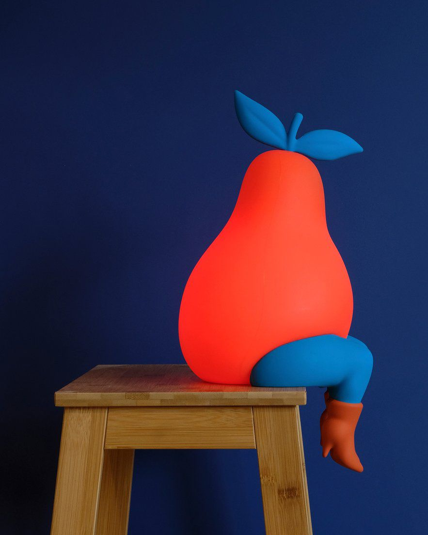 Parra's 'Pear Lamp' Is Xtra Thicc